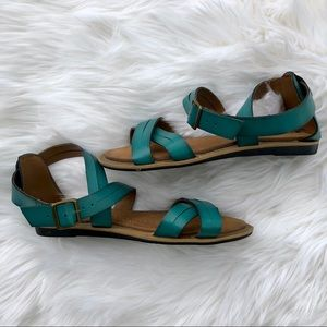 d38270b95f9b3 Clarks Shoes - Clarks Billie Jazz Sandal in Teal